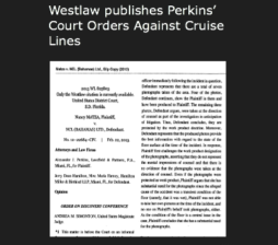 Cruise Ship Injury Lawyer - Perkins Law Offices, Miami, FL